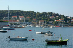 Hvar and its marine Royalty Free Stock Image