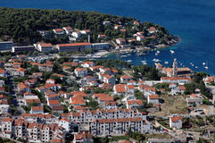 Hvar and its marine Royalty Free Stock Photos