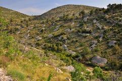 Hvar landscape Stock Image