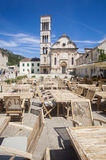 Hvar - main square Royalty Free Stock Photography