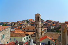 Hvar old part of town Royalty Free Stock Photos