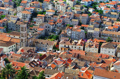Hvar old part of town Royalty Free Stock Images