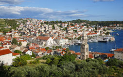 Hvar old town Royalty Free Stock Images