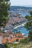 Hvar port Stock Photos