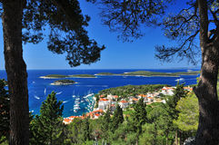 Hvar Royalty Free Stock Photos