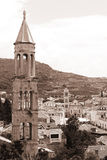 Hvar - sepia Royalty Free Stock Images