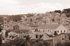 Hvar - sepia Stock Photos