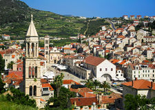 Hvar town Royalty Free Stock Photography