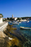 Hvar town Royalty Free Stock Images