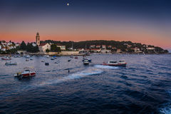 Hvar town in Croatia. Stock Image