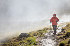 Hveragerdi Hot Spring River Trail Royalty Free Stock Image