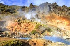 Hveragerdi Hot Springs Imagem de Stock