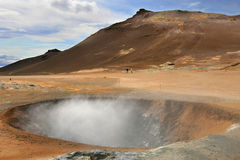 Hverarond crater Stock Images