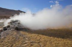Hverarondor Hverir hot springs, Iceland Royalty Free Stock Photography