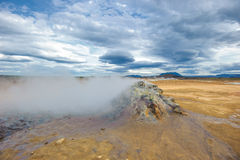 Hverarondor Hverir hot springs, Iceland Royalty Free Stock Photo
