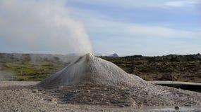 Hveravelir喷气孔 库存照片