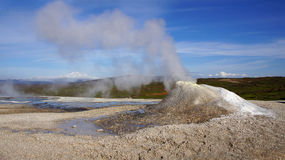 Hveravellir fumarole and hot spring Royalty Free Stock Image