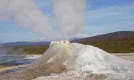 Hveravellir fumarole panorama Royalty Free Stock Images