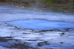 hveravellir зоны геотермическое Стоковые Фотографии RF