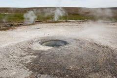 Hveravellir. Hot geothermal spring, Hveravellir, Iceland Stock Photos