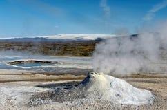 Hveravellir hot spring in Iceland Royalty Free Stock Photo