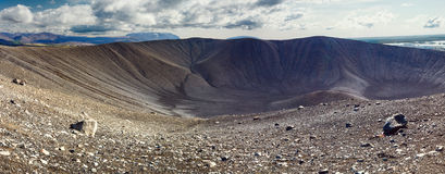 Hverfell crater in Myvatn area, northern Iceland Stock Photography