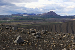 Hverfjall royalty free stock photos