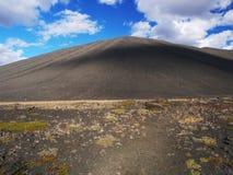 Hverfjall, północny Iceland obrazy royalty free