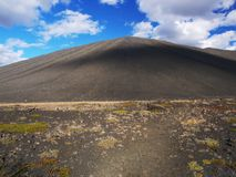Hverfjall, northern Iceland Royalty Free Stock Images