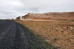 Hverir Geothermal Area Stock Image
