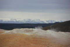 Hverir, Iceland (horizontal) Royalty Free Stock Image