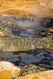 Hverir Namafjall, IJsland. Stock Foto