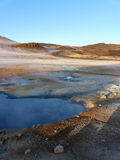 Hverir, volcanic area, Iceland. Stock Images