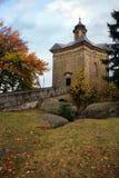 Hvezda chapel - Czech Republic Royalty Free Stock Photo