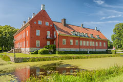 Hviderup Castle Royalty Free Stock Photography