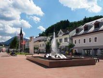 Hviezdoslav Square in Dolny Kubin Royalty Free Stock Photography