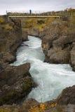 Hvita River - Husafell - Iceland Royalty Free Stock Image
