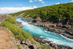 Hvita river Stock Photo
