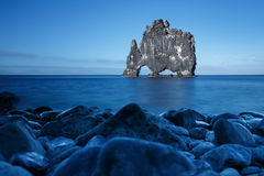 Hvitserkur, giant rock Stock Photos