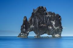 Hvitserkur, giant rock Royalty Free Stock Image