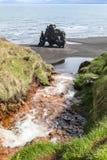 Hvitserkur, high basalt stack in the Vatnsnes peninsula, in northwest Iceland Stock Image