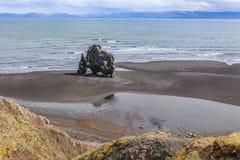 Hvitserkur, high basalt stack in the Vatnsnes peninsula, in northwest Iceland Royalty Free Stock Photos