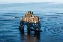 Hvitserkur Island lizenzfreies stockbild