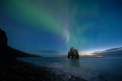 Hvitserkur no do norte de Islândia Imagens de Stock Royalty Free