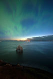 Hvitserkur on the Northern of Iceland Stock Photos