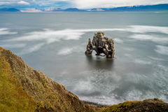 Hvitserkur rock in Iceland Stock Photos