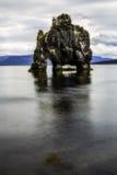 Hvitserkur, the troll rock Royalty Free Stock Photo