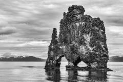 Hvitserkur, the troll rock Stock Image