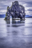 Hvitserkur, the troll rock Stock Photography