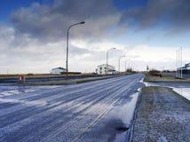 Hvolsvuller, Islande Images libres de droits